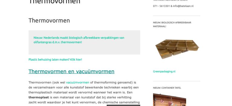 Thermovormen.com naar 7.000 bezoekers